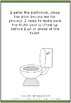 How to Use the Bathroom Social Story