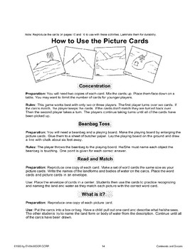 How to Use the Picture Cards