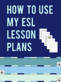 How to Use these Lesson Plans & Exercises
