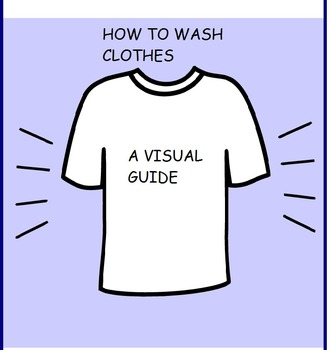 How to Wash Clothes/Social Story