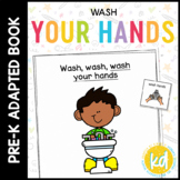 How to Wash Hands: A Social Story Adapted Book for Student