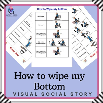 How to Wipe my Bottom - Visual Support Story