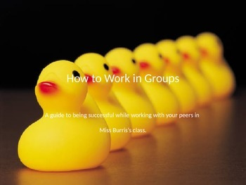 How to Work in Groups Overview Ppt