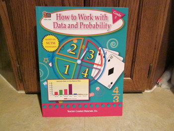 How to Work with Data and Probability Teacher Created Materials Grade 3