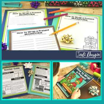 How to Wrap a Present   Holiday Writing Activity