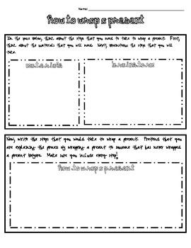 Informative essay handout