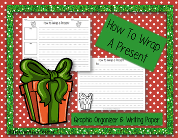 How to Wrap a Present- Expository Writing {Freebie}
