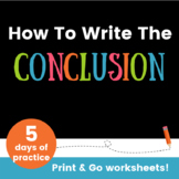 How To Write The Conclusion Of An Essay