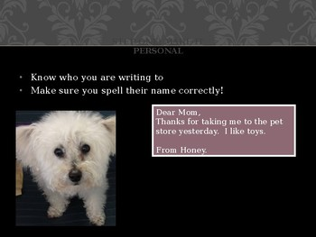 How to Write A Thank You Note (With Help from Honey the Poodle)