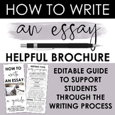 How to Write An Essay Brochure: Intro, Thesis, Body, Conclusion, Word Choice
