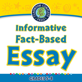 How to Write An Essay: Informative Fact-Based Essays - NOTEBOOK Gr. 5-8