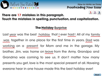 How to Write An Essay: Proofreading Your Essay - NOTEBOOK Gr. 5-8