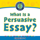 How to Write An Essay: What Is a Persuasive Essay? - NOTEBOOK Gr. 5-8