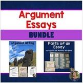 How to Write Argumentative Essays + Parts of an Essay Visu