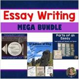 How to Write Argumentative & Informative Essays + Parts of an Essay: BUNDLE!