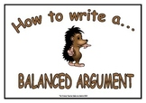 How to Write - Balanced Argument Display & Poster Pack