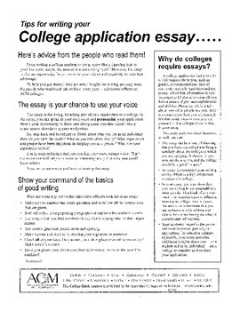 How to Write College Application Essays with Example and Assignment