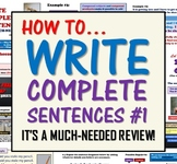 How to Write Complete Sentences (A Basic Reintroduction)