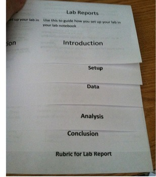 How to Write Conclusion and Lab Report Foldable Bundle- Using C.E.R method