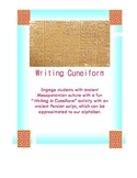How to Write Cuneiform. Cuneiform Writing Assignment. Fun Activity!