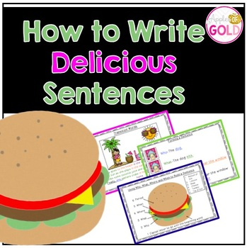How to Write Delicious Sentences