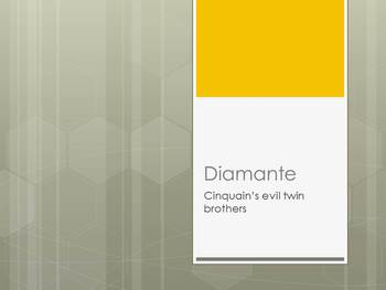 How to Write Diamante Poems