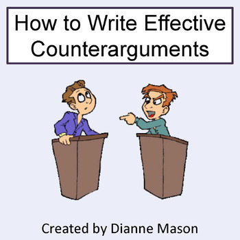 How to Write Effective Counterarguments