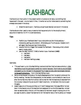 How to Write Effective Flashbacks