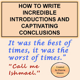 How to Write Incredible Introductions and Captivating Conclusions