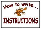 How to Write - Instructions Display & Poster Pack