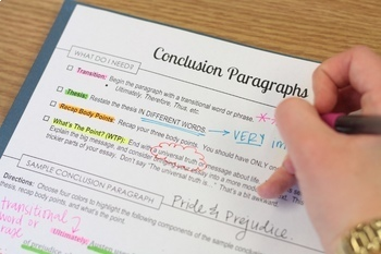 How to Write Intro & Conclusion Paragraphs (Literary Analysis Essay)