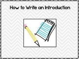 How to Write Introductions