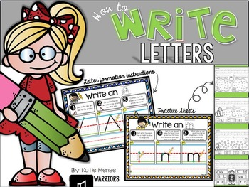 How to Write Letters {Handwriting, letter formation and pa