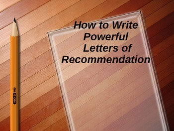How to Write Letters of Recommendation for Students