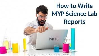 scientific report writing pdf