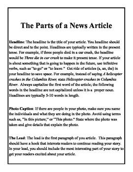 Journalism: Writing News Articles