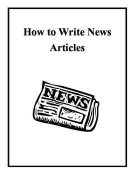 Journalism: Writing News Articles