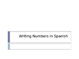How to Write Numbers in Spanish