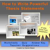 How to Write Powerful Thesis Statements