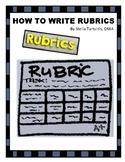 How to Write Rubrics
