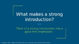How to Write Strong Introductions