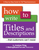 How to Write Titles and Descriptions That Customers Can't Resist  Free Book