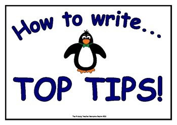 How to Write - Top Tips Display Posters