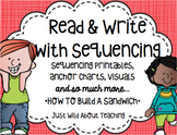 How to Write Using Sequence Words Pack - {first, next and