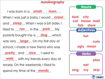 How to Write a Book Report: Autobiography - NOTEBOOK Gr. 5-8