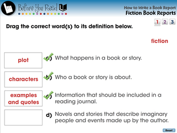 How to Write a Book Report: Fiction Book Reports - MAC Gr. 5-8