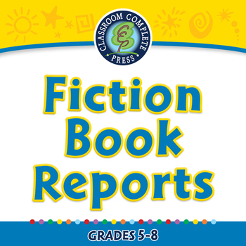 How to Write a Book Report: Fiction Book Reports - NOTEBOOK Gr. 5-8