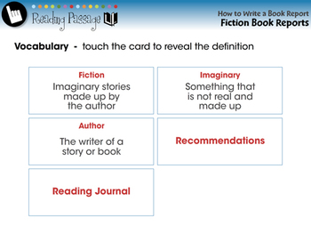 How to Write a Book Report: Fiction Book Reports - PC Gr. 5-8