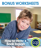 How to Write a Book Report Gr. 5-8 - BONUS WORKSHEETS