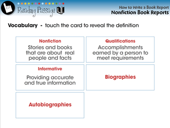 How to Write a Book Report: Nonfiction Book Reports - MAC Gr. 5-8